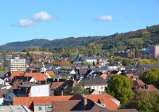 Lahr городское, воздушный Стоковое Фото