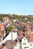 Lahr городское, воздушный Стоковые Фотографии RF