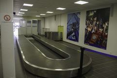 Lahr Blackforest Airport Arrivals Hall Royalty Free Stock Images