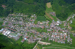 Lahr Kuhbach, Ortenau-Antenne Stockbilder