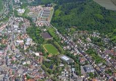Lahr, Ortenau-Antenne Stockfotografie