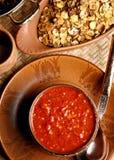 Lahsun ki Chutney - made from Garlic Stock Image