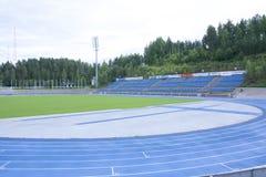 LAHTI FINLAND 20 JULI 2015 stadion Royaltyfria Bilder