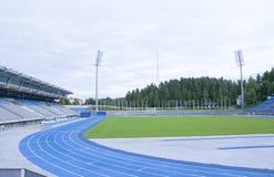 LAHTI FINLAND 20 JULI 2015 stadion Royaltyfria Foton