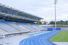 LAHTI FINLAND 20 JULI 2015 stadion Arkivbilder