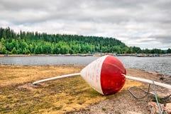 Lahti Finlandia Duży pławik zdjęcie royalty free