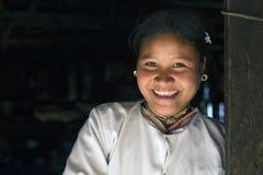 Lahu Shi Tribe, Myanmar royalty free stock photo