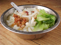 Lai fun noodles royalty free stock images