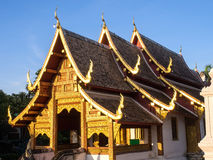 Lai Kam Pavilion is unique architect of Northern Thai art style Royalty Free Stock Photography