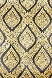 Lai siamesisch in der traditionellen siamesischen Artanstrichkunst lizenzfreies stockbild