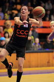 Laia Palau - basket Royaltyfria Foton