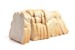 Laib des geschnittenen Brotes Stockfotografie