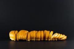Laib des geschnittenen Brotes Lizenzfreie Stockfotografie