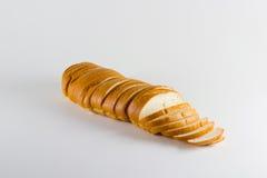 Laib des geschnittenen Brotes Stockfoto