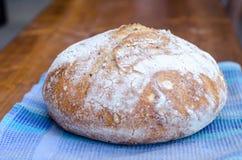 Laib des Sauerteig-Weizen-Brotes Lizenzfreies Stockfoto