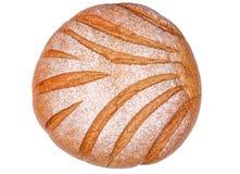 Laib des weißen Brotes Stockbild