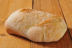 Laib von Ciabatta-Brot Lizenzfreie Stockfotografie
