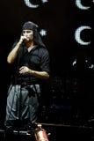 laibach摇滚歌手 图库摄影