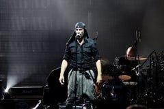 laibach摇滚歌手 免版税库存图片