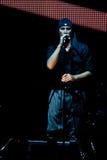 LAIBACH - τραγουδιστής βράχου Στοκ Φωτογραφίες