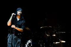 LAIBACH - cantante de roca Foto de archivo