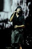 LAIBACH - cantante de roca Imagenes de archivo