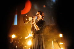 Laibach concert Royalty Free Stock Photos