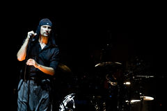 LAIBACH - rock singer Stock Photo
