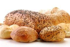 Laibe des Brotes und der Rollen Lizenzfreie Stockfotos
