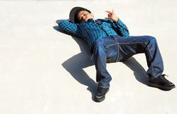 Laid Back Skater 2 Stock Photography