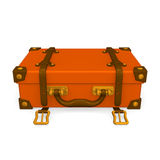 Laid Classical Luggage Front Stock Photography