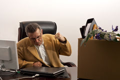Laid-off-anger Stock Image