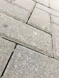 Laid paving bricks Royalty Free Stock Images