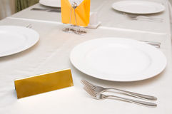 Laid table Royalty Free Stock Image