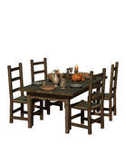 Laid Table Stock Image