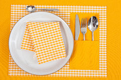 Laid table Royalty Free Stock Photography