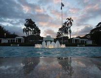 Laie Hawaii Temple stock photo