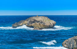 Laie point. Officially known as Laie Point State Wayside Park, is located on the North Shore of the Island of Oahu Stock Photos