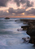 Laie Point sunrise Stock Photography