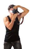 Laienhafter Fotograf Lizenzfreie Stockfotografie