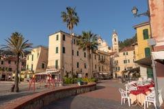 Laigueglia, итальянка Ривьера стоковое изображение
