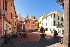 Laigueglia, переулки и улицы стоковое изображение