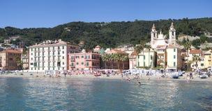 Laigueglia, Italian Riviera stock photo