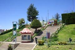 Laikacota公园在拉巴斯,玻利维亚 免版税库存照片
