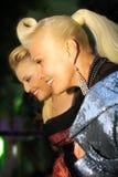 Laima Vajkule and Angelika Varum. International, competition Royalty Free Stock Photography