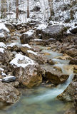Lainbach waterfall. Near Kochel, Germany Royalty Free Stock Photo