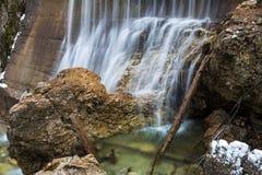 Lainbach waterfall. Near Kochel, Germany Royalty Free Stock Image