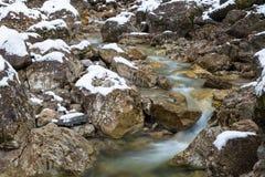 Lainbach waterfall. Near Kochel, Germany Stock Images