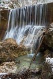 Lainbach waterfall. Near Kochel, Germany Stock Photography