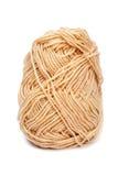 Laine de fil de Brown pour le tricotage Photos libres de droits